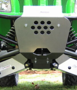 AC-SP-SB-700 - Skid Plate w/ Stock Bumper Installed